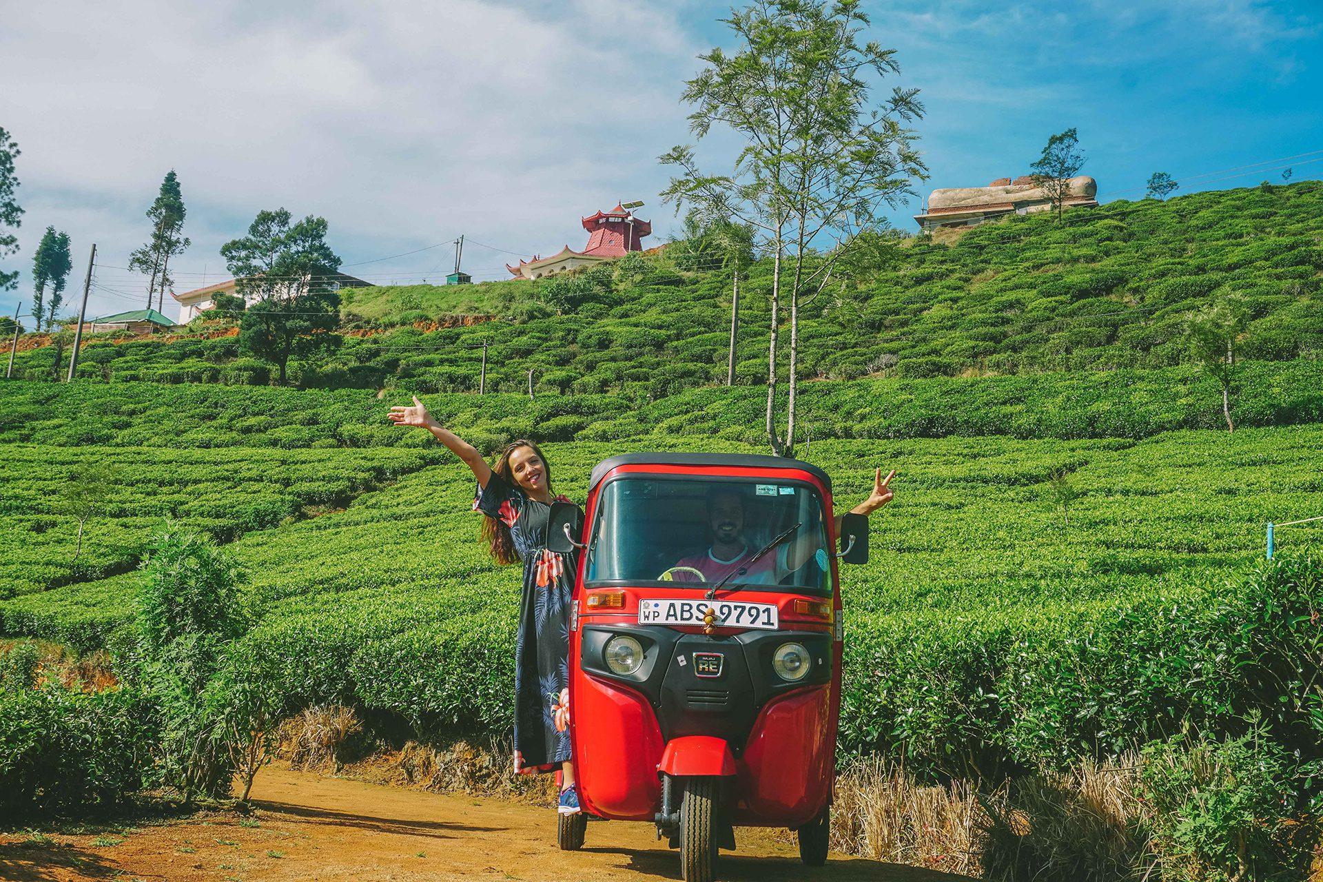 Discovering Sri Lanka by Tuk-Tuk